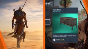 Assassin's Creed Origins: Lootboxen sorgen für Frust bei den Fans