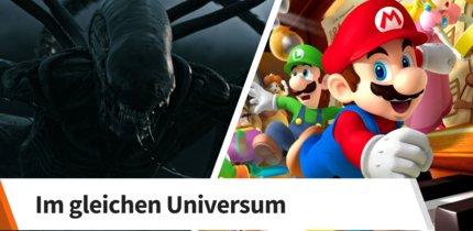Sind die Eltern von Mario und dem Alien Geschwister?