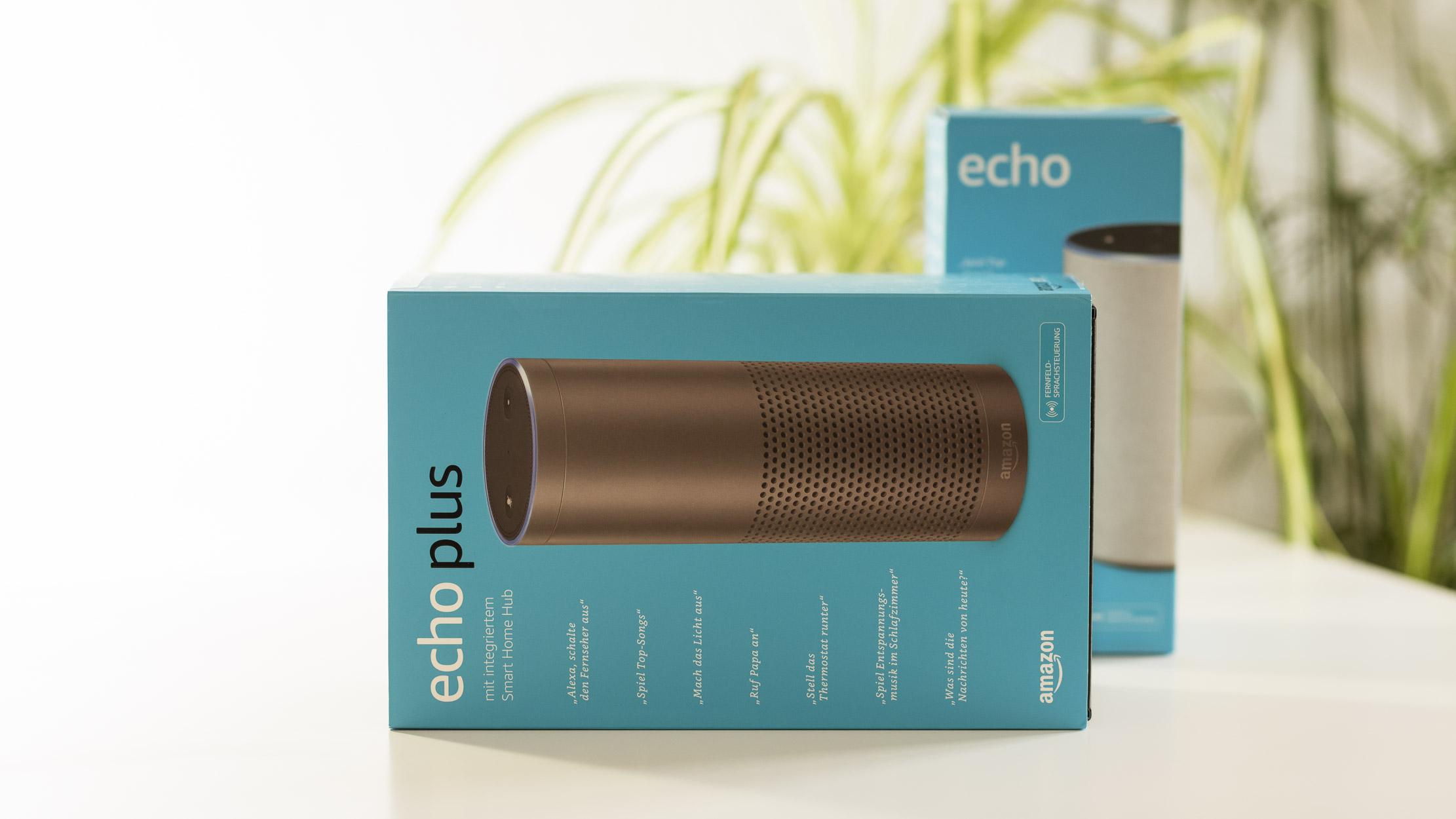 Amazon Echo Versus Echo Plus Die Neuen Gerate Im Vergleich Mit Dem Bisherigen Echo