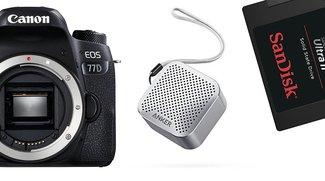 Amazon Blitzdeals: Canon-Aktion, Anker SoundCore Nano und SanDisk-SSD günstiger