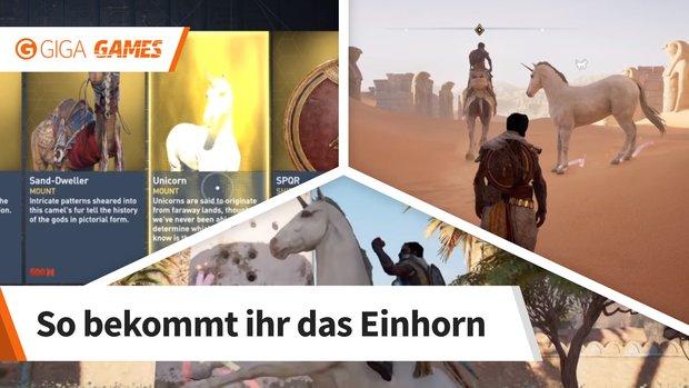 Assassin's Creed - Origins: Einhorn als Reittier freischalten