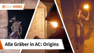 Assassin's Creed - Origins: Alle Gräber im Walkthrough