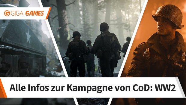Call of Duty - WW2: Singleplayer-Kampagne - Spielzeit, Charakter und weitere Infos