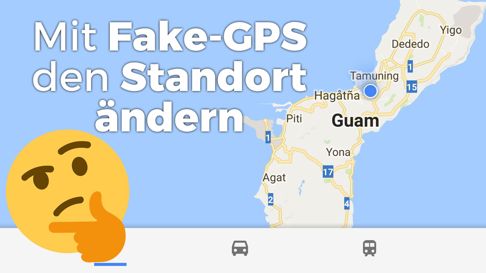 Standort ändern unter Android 7 (Nougat) und 8 (Oreo)