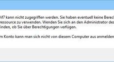 Windows 10: Kein Zugriff auf Netzwerk, Dateien und Ordner – so geht's doch