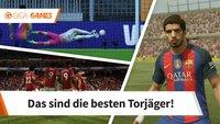 FIFA 18: Die besten Stürmer und Mittelstürmer in der Rangliste