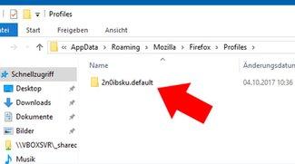 Firefox: Wo ist der Lesezeichen-Speicherort?