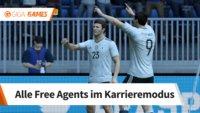 FIFA 18: Free Agents - Diese Stars könnt ihr schnell verpflichten