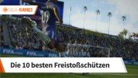 FIFA 18: Die besten Freistoßschützen