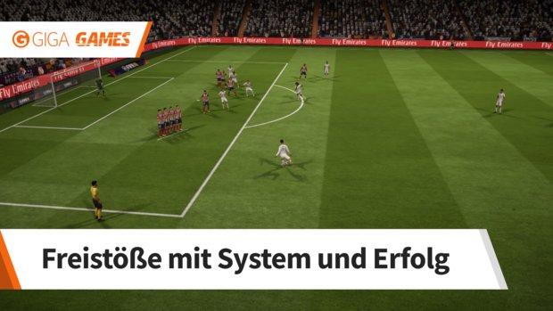 FIFA 18: Freistoß verwandeln - So zirkelt ihr sie rein