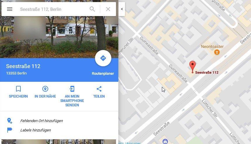Google Maps Fähnchen Setzen