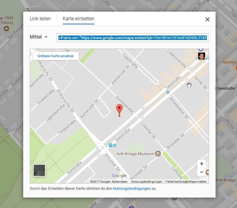 google-maps-marker-einbetten