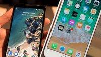 Google Pixel 2 XL vs. iPhone 8 Plus: Innovation gegen Langeweile