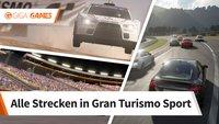 Gran Turismo Sport: Streckenliste mit allen Rundkursen