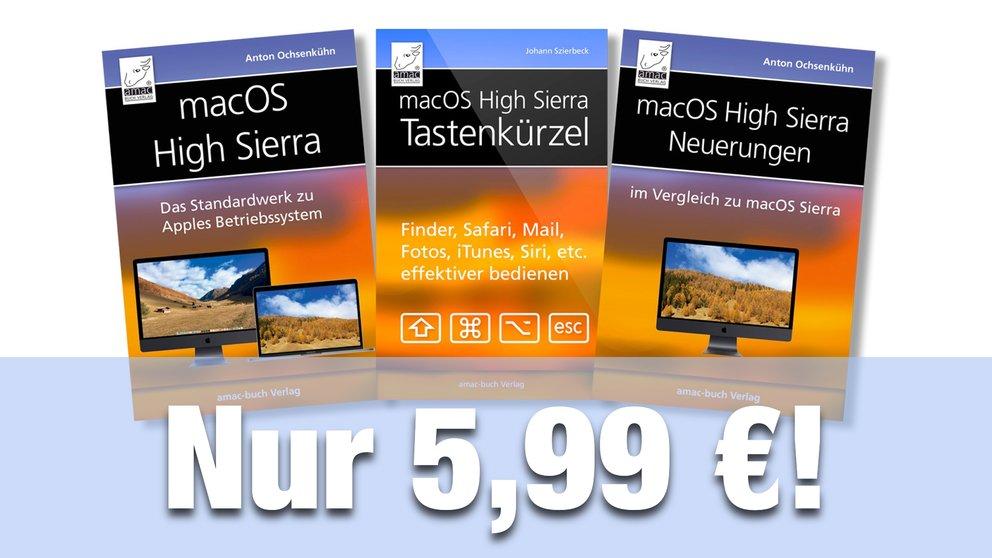 macOS High Sierra: E-Book im Bundle für nur 5,99 Euro statt 11,48 Euro!