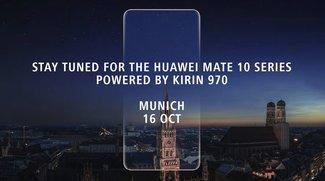 Huawei Mate 10: Live-Stream der Präsentation jetzt bei uns