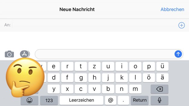 Wegen iPhone X? So verstümmelt Apple die Tastatur in iOS 11