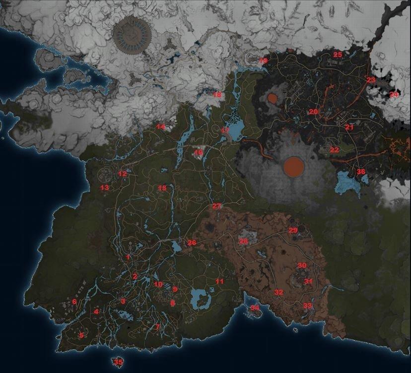karte mit teleportern
