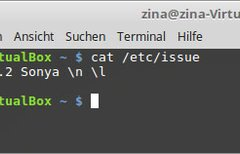 Linux-Version anzeigen...