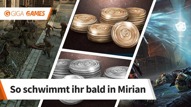 Mittelerde - Schatten des Krieges: Mirian und Gold farmen - so gehts