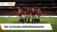 FIFA 18: Die besten Mittelfeldspieler