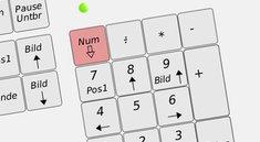 Nummernblock permanent in Windows 10 aktivieren