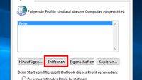 Outlook-Profil löschen – so geht's