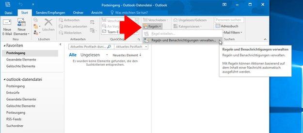 Outlook: Regel erstellen – so geht's