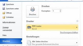 """PDF-Printer – alle Dateien als PDF """"drucken"""""""