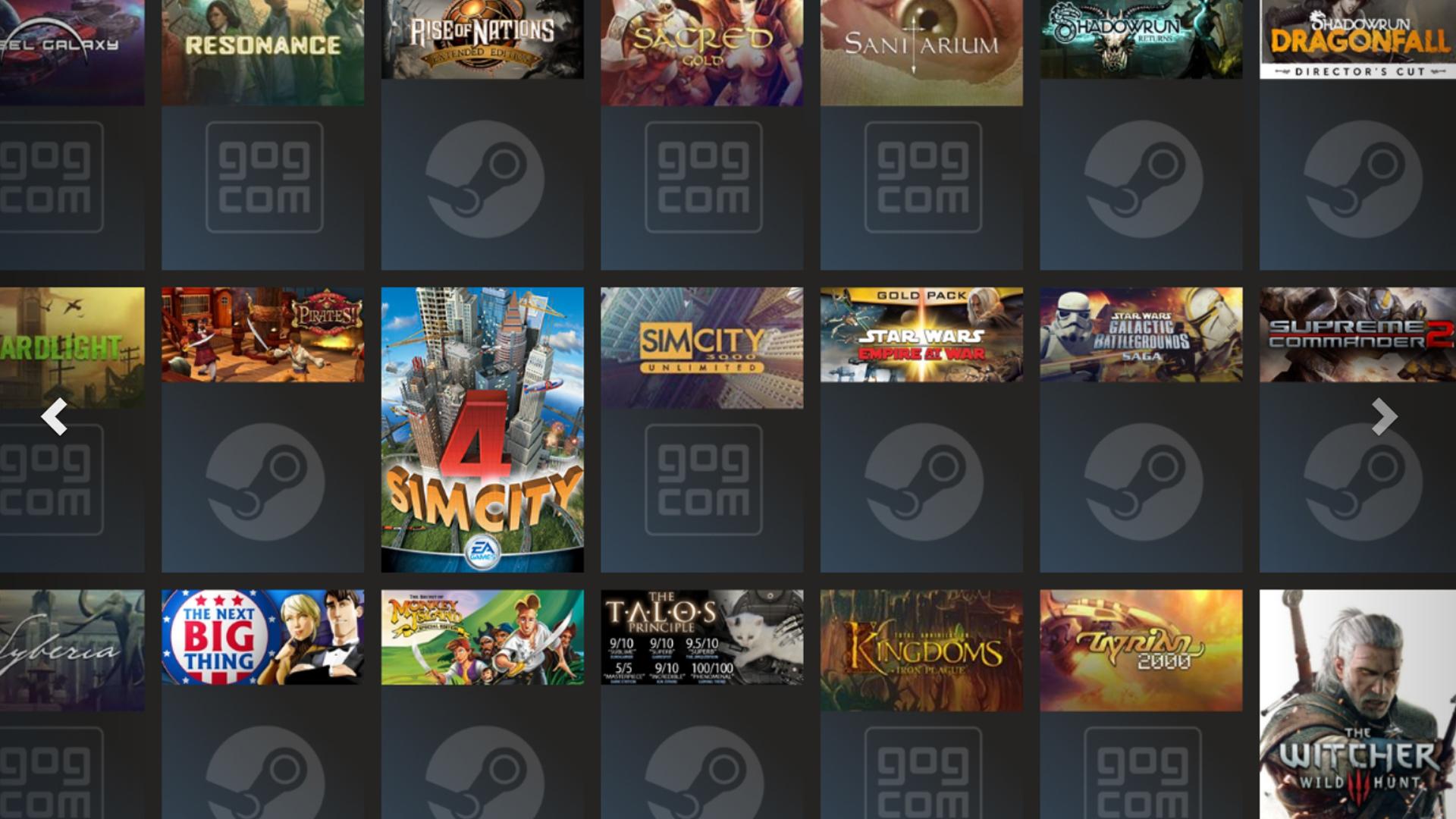 Playnite: Gratisprogramm vereint Spielebibliotheken von