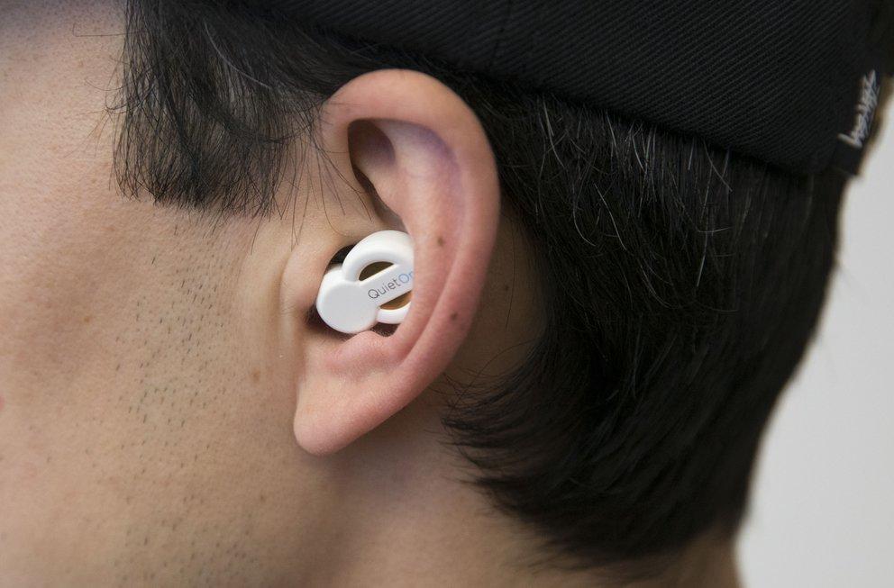Aktiver Gehörschutz QuietOn: Der richtige Sitz im Ohr ist entscheidend