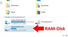 RAM-Disk in Windows 10 erstellen – so geht's