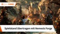 Mittelerde - Schatten des Krieges: Spielstand übertragen mit Nemesis Forge