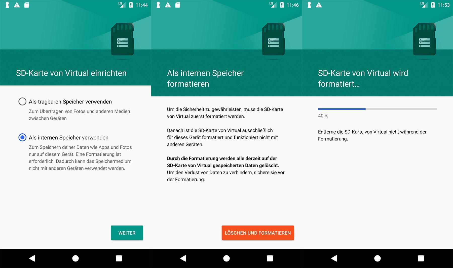 sd karte android microSD Karte als internen Speicher nutzen – so geht's
