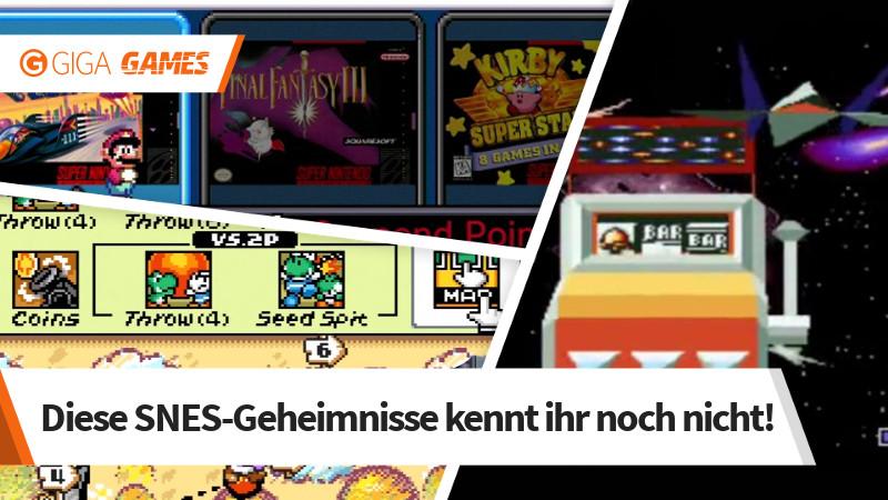 SNES Mini: Cheats, Tipps und Dinge, die ihr noch nicht wusstet