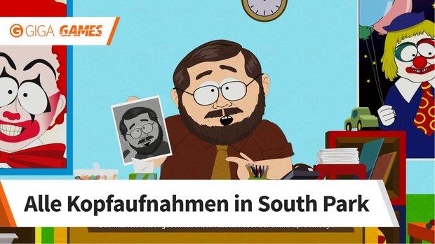 South Park - Die rektakuläre Zerreißprobe: Kopfaufnahmen - alle Fundorte