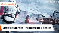 Star Wars Battlefront 2 startet nicht: Lösungshilfen für Fehlermeldungen und Probleme