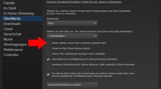 Steam: Autostart deaktivieren – so geht's