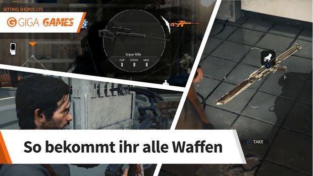 The Evil Within 2: Alle Waffen - Fundorte im Überblick