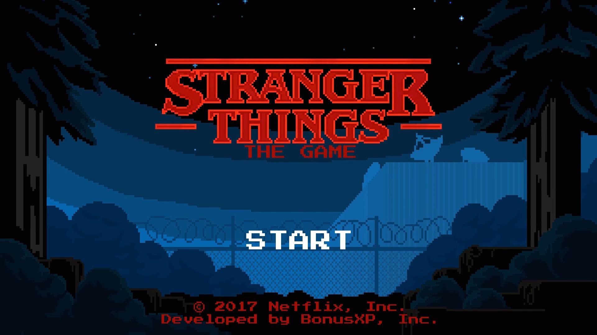 Stranger Things Das Spiel Trailer