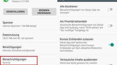 Lösung Whatsapp Zeigt Keine Benachrichtigung Giga