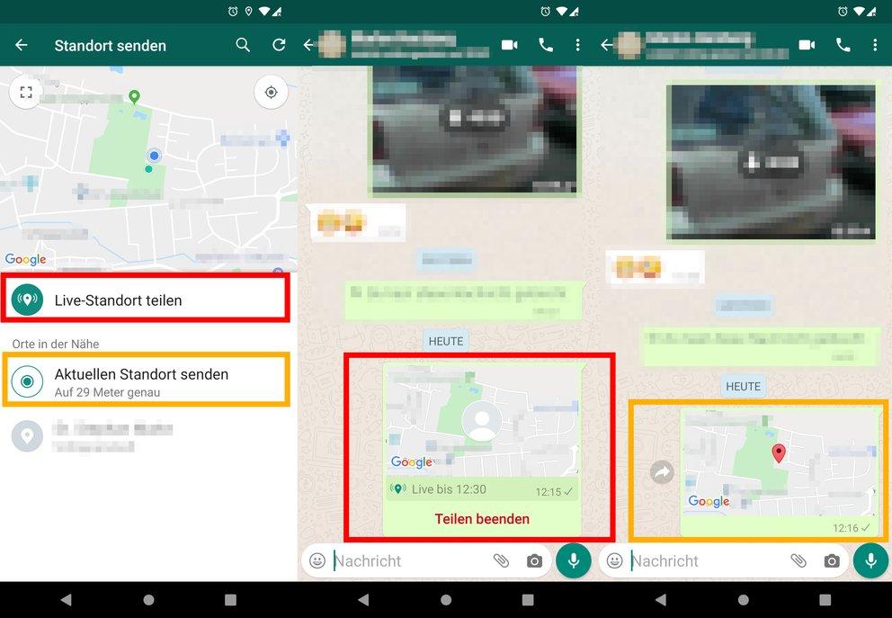 Whatsapp Live Standort Faken