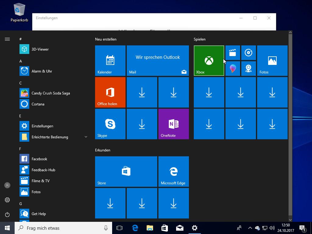 windows 10 apps verschwunden pfeil symbol nach fall creators update giga. Black Bedroom Furniture Sets. Home Design Ideas