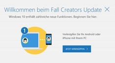 Windows 10 Fall Creators Update – Die neuen Funktionen