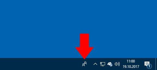 Windows 10: Kontakte-Symbol aus Taskleiste ausblenden – so geht's
