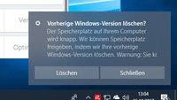 Windows.old: Löschen der vorherigen Windows-Version – so geht's