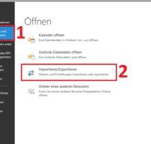 Outlook-Kontakte exportieren – so geht's
