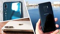 Top 10: Die besten Kamera-Smartphones