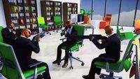 Last Man Sitting: Scherz-Shooter bietet PUBG auf Bürostühlen