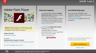 Welche Adobe Flash Player Version ist aktuell?